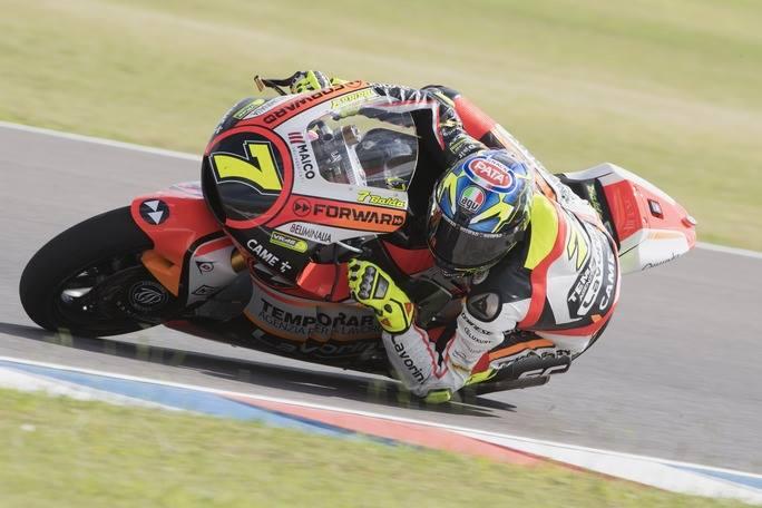Moto2 Argentina, FP3: Sull'umido la spunta Baldassarri