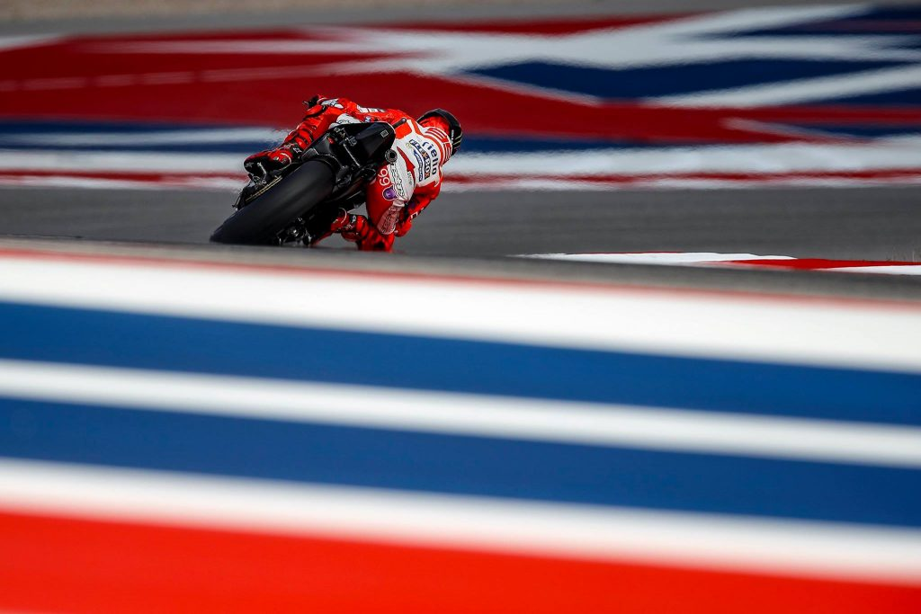"""MotoGP   Stati Uniti, Day 1: Lorenzo, """"Il mio feeling con la Desmosedici è migliorato"""""""