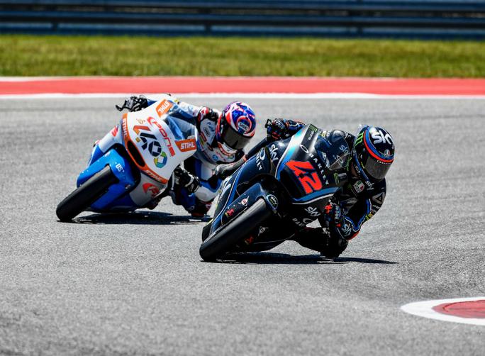Moto2| I piloti dello Sky Racing Team VR46 fuori dalla zona punti