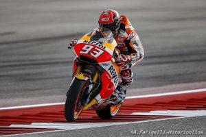 """MotoGP Stati Uniti Qualifiche: Marquez, """"Non mi aspettavo di essere primo"""""""