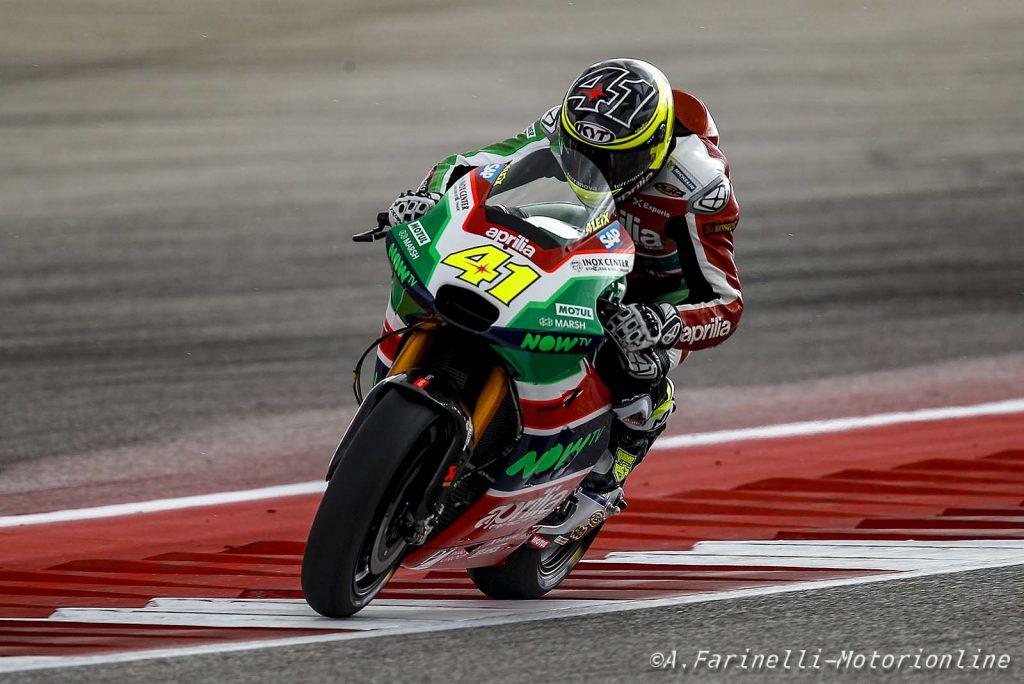 """MotoGP   Stati Uniti, QP: Espargarò, """"Giornata molto difficile"""""""