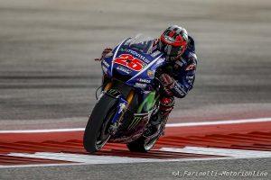 MotoGP Stati Uniti, FP3: Tra tante cadute, Vinales prende la vetta della classifica