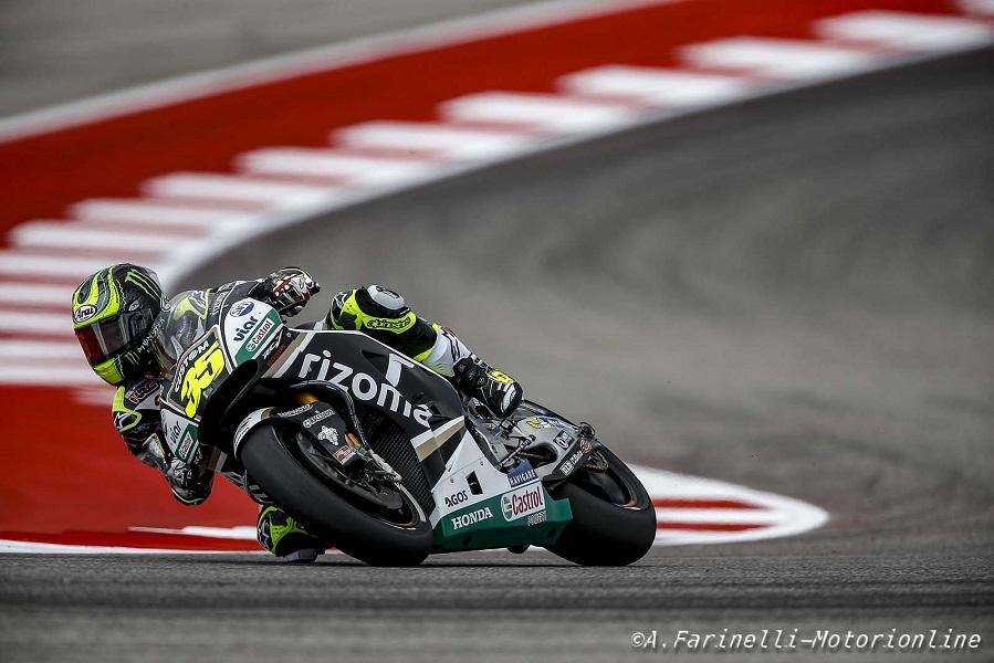 """MotoGP Stati Uniti: Crutchlow, """"Sono deluso per essere al nono posto nella griglia"""""""