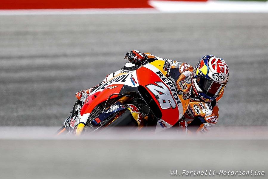 """MotoGP Stati Uniti: Pedrosa, """"Sono molto contento di essere riuscito a salire sul podio"""""""