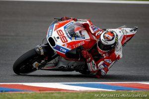 """MotoGP Argentina Gara: Lorenzo, """"All'improvviso mi sono trovato addosso a Iannone """""""