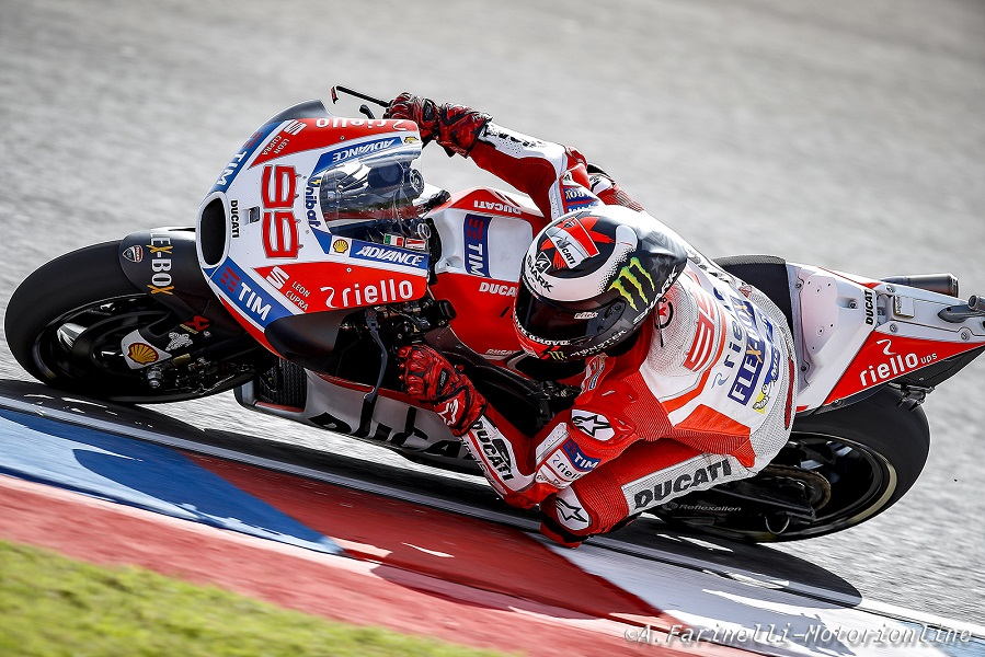 """MotoGP Argentina Day2: Lorenzo, """"Peccato per la pioggia, avremmo potuto migliorare con l'asciutto"""