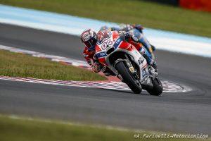 """MotoGP Argentina Gara: Dovizioso, """"Sono stato colpito dalla moto di Espargaro, in Argentina non ho davvero fortuna"""""""