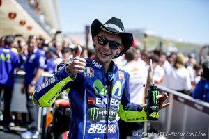 """MotoGP: Rossi, """"Essere il leader del mondiale più anziano dal '49 mi fa piacere, ma vuol dire che sono vecchio"""""""