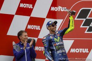 """MotoGP Argentina: Jarvis, """"Quando Rossi inizia a forzare, la moto comincia a lavorare"""""""