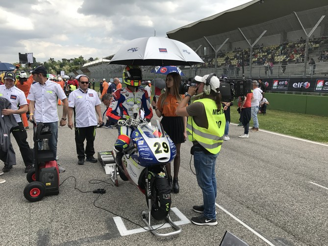 CIV Imola round 2 Moto3