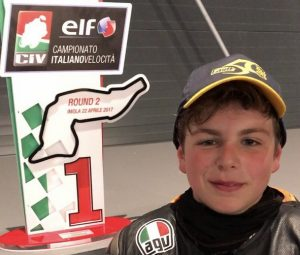"""CIV: PreMoto 3 250, prima vittoria di uno strepitoso Alberto Surra, """"Oggi ci ho messo il cuore e l'astuzia"""""""