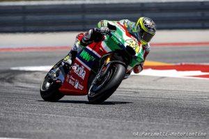 MotoGP: Il meteo rovina i piani Aprilia al Mugello