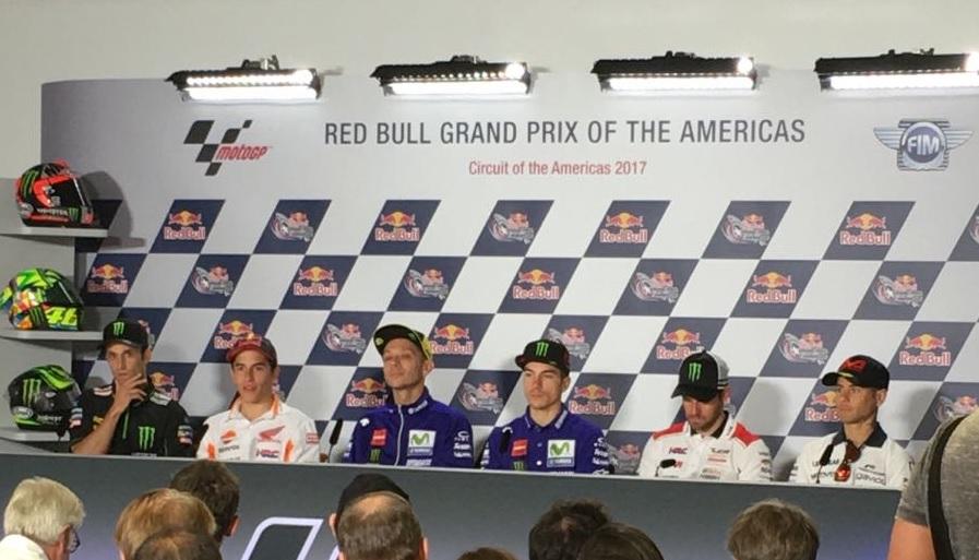 MotoGP Preview Stati Uniti: La conferenza stampa