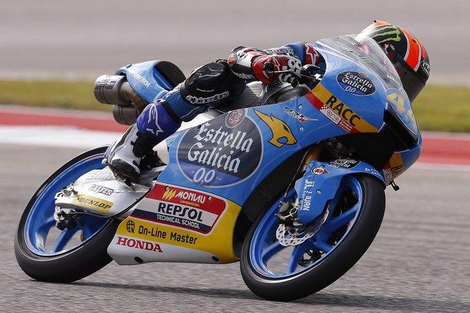 Moto3 Texas Prove 3 Zampata di Romano Fenati
