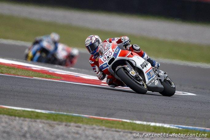 """MotoGP: Andrea Dovizioso, """" Credo che ad Austin possiamo essere davvero competitivi"""""""