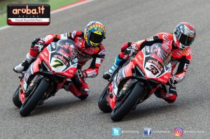 Superbike, Pirelli Aragon Round, Gara 1: secondo posto per Marco Melandri