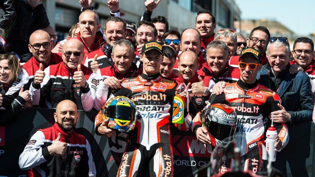 Superbike, Pirelli Aragon Round, Gara 2: prima vittoria in stagione per Chaz Davies