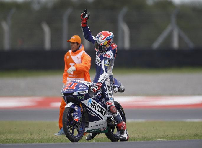 Moto3 Argentina Gara: gara sfortunata per Di Giannantonio