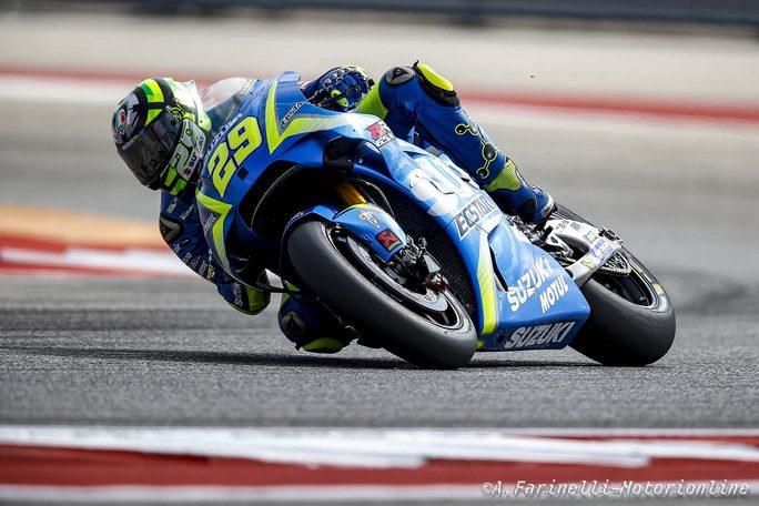 """MotoGP Stati Uniti: Iannone, """"Sono veramente deluso"""""""