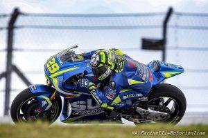 """MotoGP Stati Uniti: Iannone, """"Buon settimo posto, ma punto più in alto"""""""