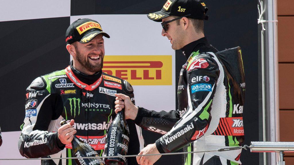 Superbike, Pirelli Aragon Round, Gara1: Jonathan Rea mantiene il record di vittorie