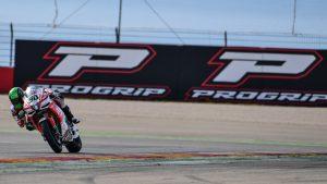 Superbike, Pirelli Aragon Round, Gara 2: Milwaukee Aprilia a punti