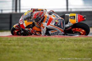 "MotoGP Stati Uniti, Gara: Marquez detta legge ""a casa sua"", rimonta Rossi 2°, Pedrosa 3°,  Vinales K.O."