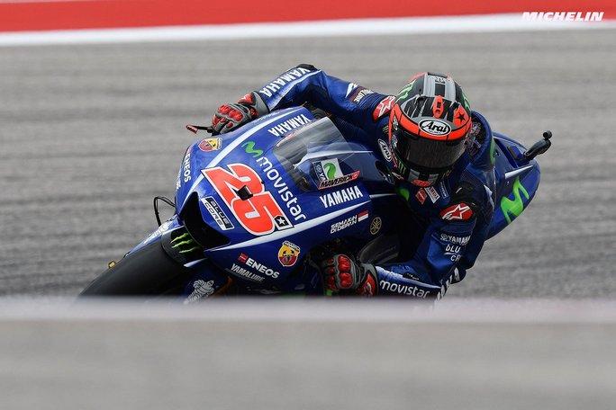 """MotoGP Stati Uniti: Vinales, """"Siamo messi bene, abbiamo lavorato per la gara"""""""