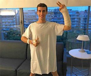 """MotoGP: Operazione riuscita per Rins, """"Desidero iniziare immediatamente il mio recupero"""""""