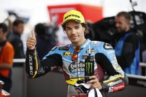 Moto2 Argentina: La parola ai piloti del podio, Morbidelli, Oliveira e Luthi