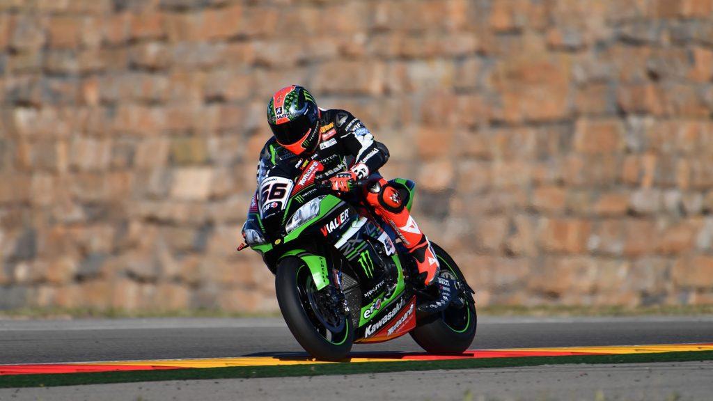 Superbike, test Aragon: Tom Sykes chiude al top