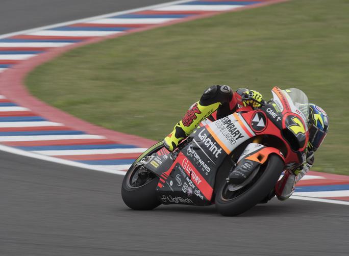 Moto2 Argentina Gara: buona prestazione di Baldassarri; Marini a punti