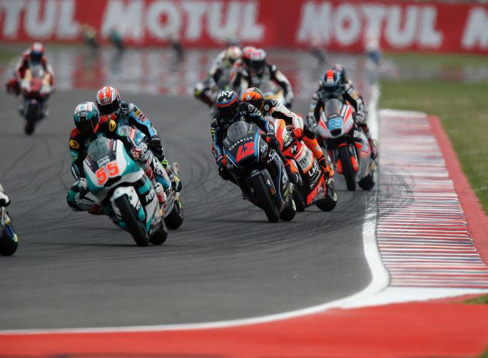 Moto2 Argentina Gara: settimo Bagnaia, migliora Manzi