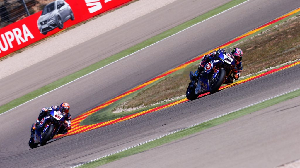 Superbike, Pirelli Aragon Round, Gara 2: quinto posto per Van der Mark
