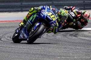 MotoGP Stati Uniti: Zarco risponde a Rossi, per il francese manovra corretta