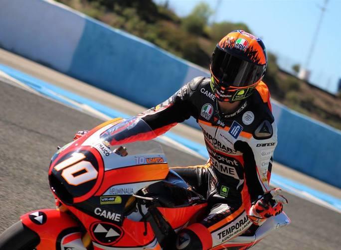 Moto2 Jerez: migliore risultato in carriera per Marini