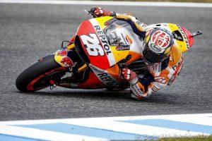 MotoGP Jerez, QP: Pedrosa vola, Marquez in scia, Rossi 7°