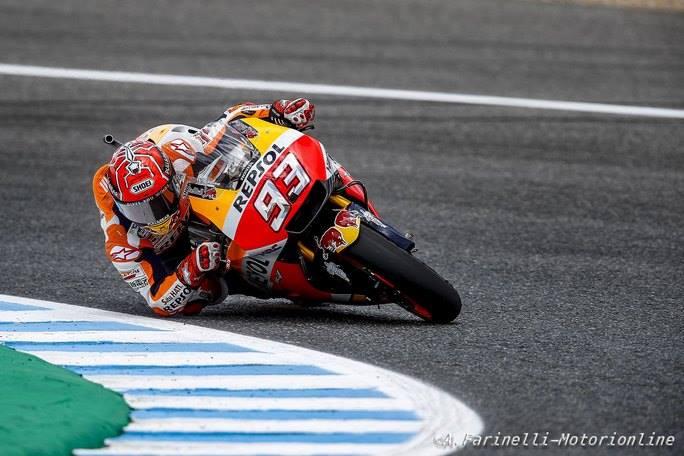 MotoGP Jerez, FP4: Marquez rompe il dominio di Pedrosa