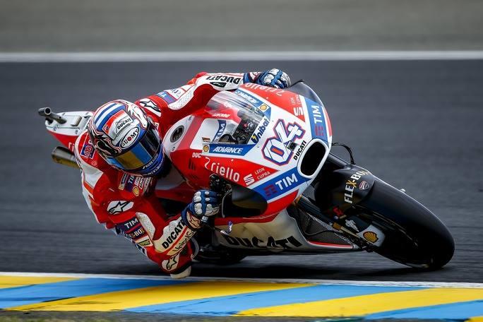 """MotoGP Le Mans: Dovizioso, """"Sono fiducioso perché credo di avere un buon passo"""""""