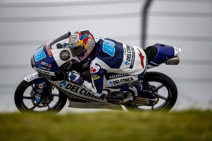 Moto3 Le Mans, FP2:  Martin imprendibile sotto la pioggia