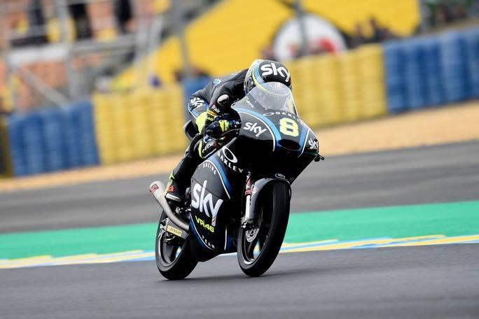 Moto3 Le Mans, FP3: Bulega si aggiudica l'ultima sessione di libere su pista umida