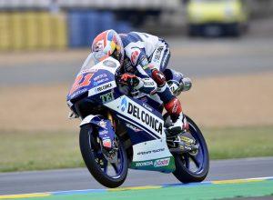 Moto3 Le Mans, Di Giannantonio chiude la prima giornata di libere al quinto posto