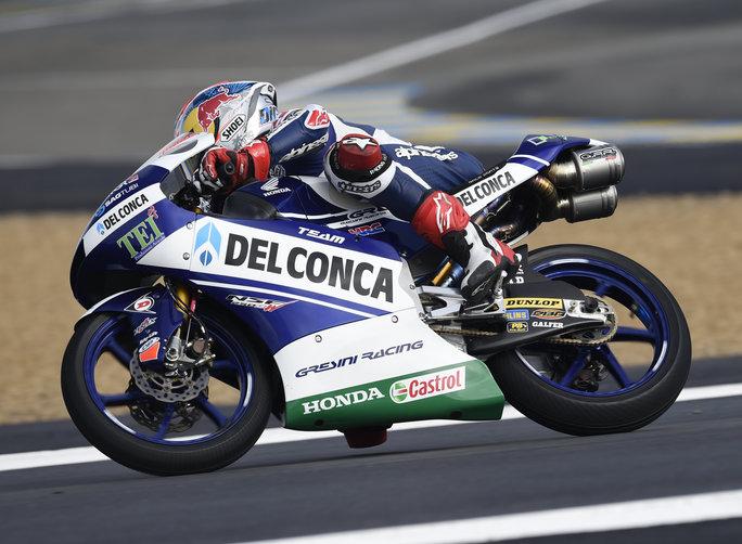 """Moto3 QP Le Mans, Di Giannantonio: """"Domani sarà difficile"""""""