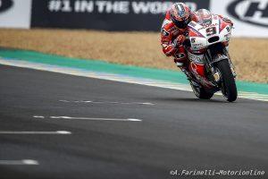 """MotoGP Le Mans: Petrucci, """"E' la peggiore qualifica da quando sono con Pramac"""""""