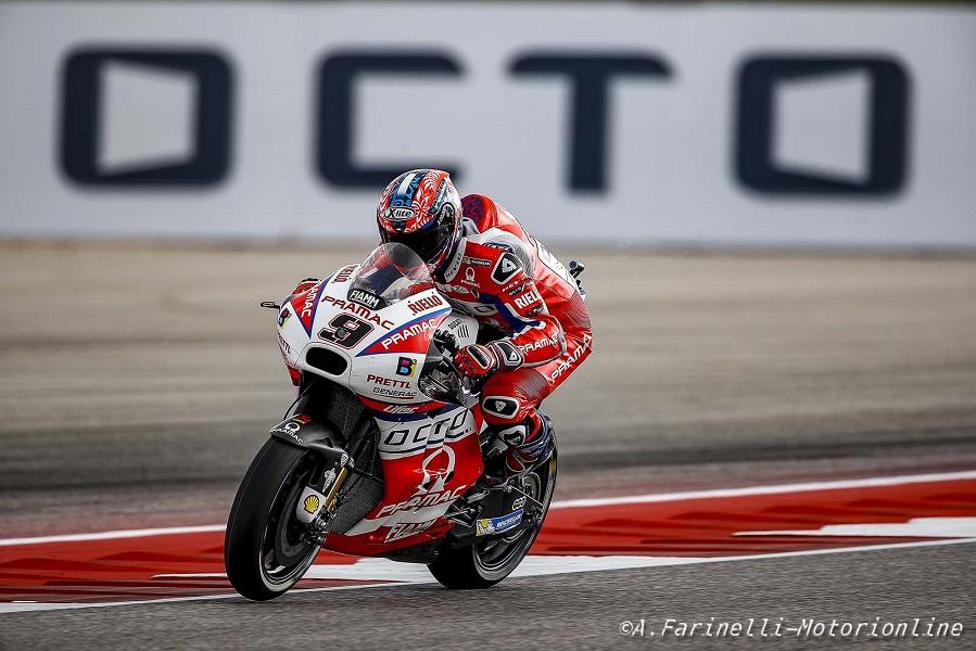 """MotoGP Jerez: Petrucci, """"Abbiamo margine, ma intanto siamo tra i primi"""""""