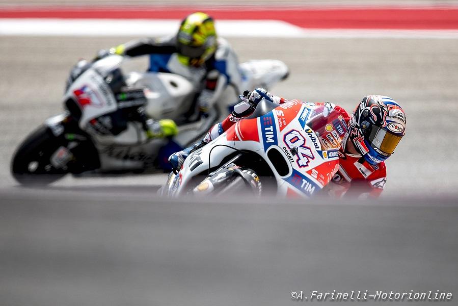 """MotoGP Jerez: Dovizioso, """"Oggi le condizioni erano difficili, ma siamo riusciti a fare un buon lavoro"""""""