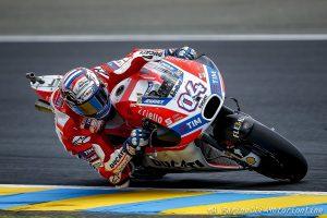 """MotoGP Le Mans: Dovizioso, """"A metà gara ho dovuto rallentare, ho perso forza nell'avambraccio destro"""""""