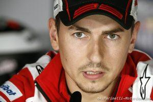 """MotoGP Jerez: Lorenzo, """"L'obiettivo di domenica sarà essere la prima Ducati al traguardo"""""""