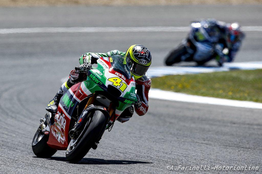 "MotoGP | Test Jerez: Espargarò, ""Abbiamo provato tante cose"""