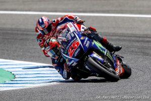 MotoGP Test Jerez: Vinales mantiene il comando, pochi i miglioramenti nel pomeriggio